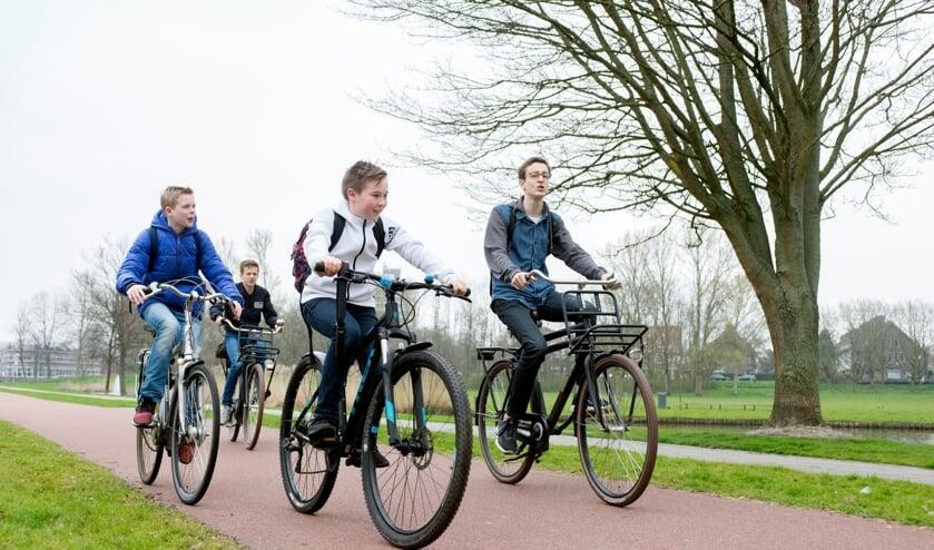 <p>Een fiets is voor iedere jongere belangrijk. (foto: Leergeld Nederland)</p>