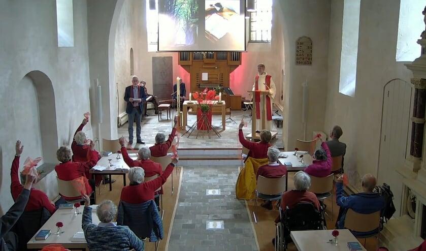 <p>Weer naar de kerk in Heumen met Pinksteren. (foto: PKN Heumen)</p>