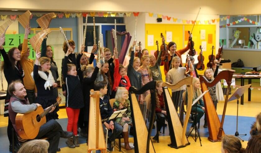 <p>Voorspeelmiddag leerlingen van Het Muziek Collectief. (foto: Eigen beheer)</p>