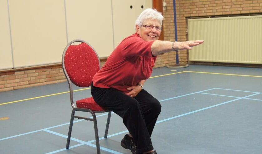 <p>Bewegen voor ouderen. (foto: Marian Schijf)</p>