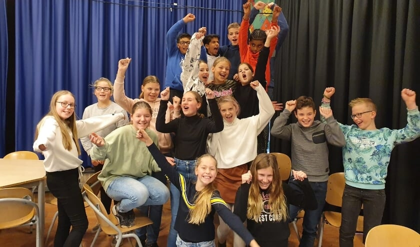 <p>Groep 8a. (foto: Abacus)</p>