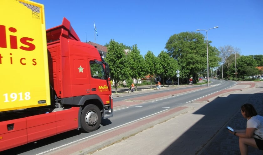 <p>Controlepost Rijksweg. (foto: J van de Wijdeven)</p>