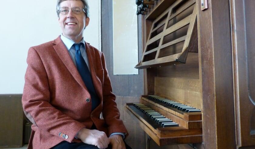<p>Organist Leon van den Brand. (foto: Leon van de Brand)</p>
