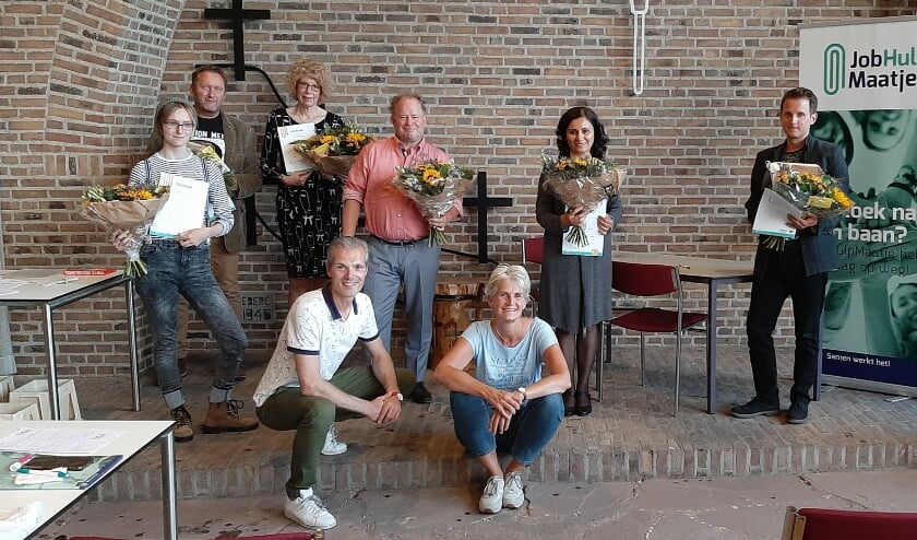<p>Feestelijke afsluiting van de JobGroup. (foto: Cora van den Berg)</p>