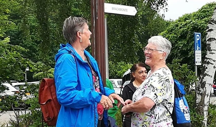 <p>Wandelen op Woensdag: Steeds gezellig! (foto: Agile Welzijn)</p>