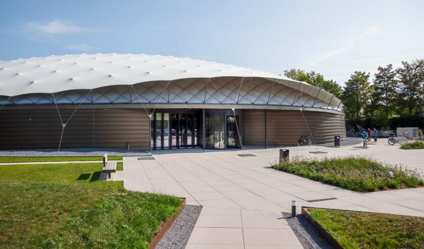 <p>Het Vrijheidsmuseum in Groesbeek. (foto: Shaded Dome Technologies)</p>