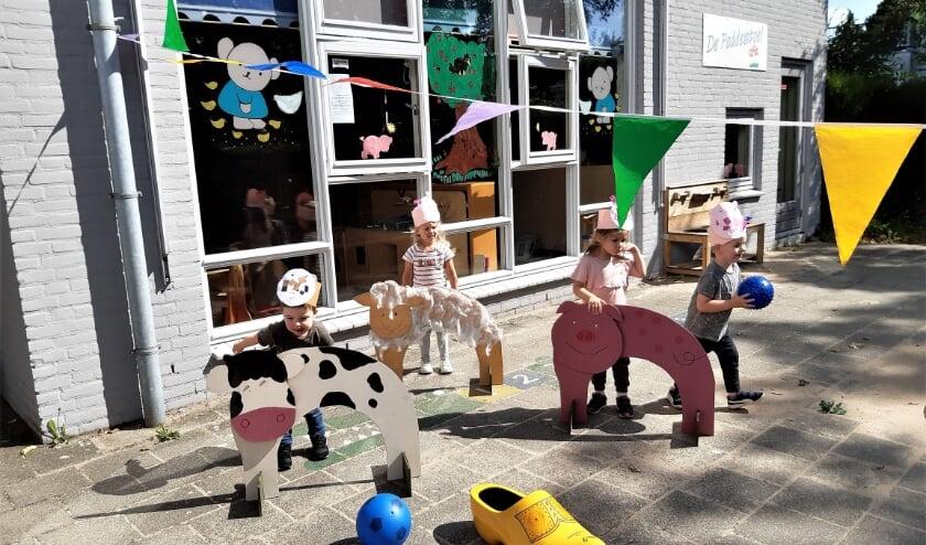 <p>Peuters spelen boerderijspel. (foto: C.A. van Lonkhuyzen)</p>