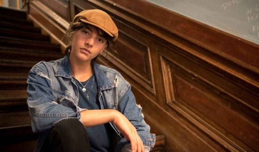 Cheyenne Löhnen maakt korte film over seksueel geweld binnen een relatie. In Willemeen wil ze erover in debat .(Foto: Ellen Koelewijn)
