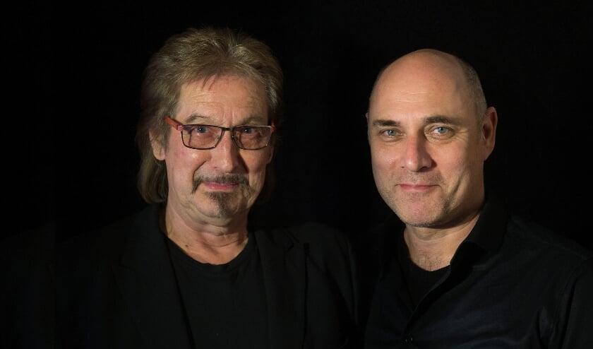<p>Joop Boxtart en John te Dorsthorst. (foto Joop Boxtart)</p>