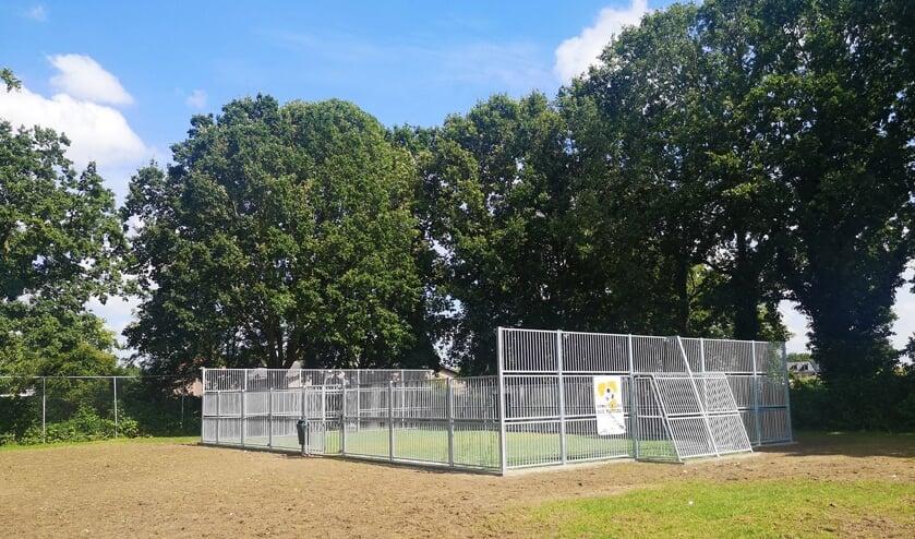 <p>Voetbalkooi Oranjeveldje Ochten. (foto: Mozaiek)</p>