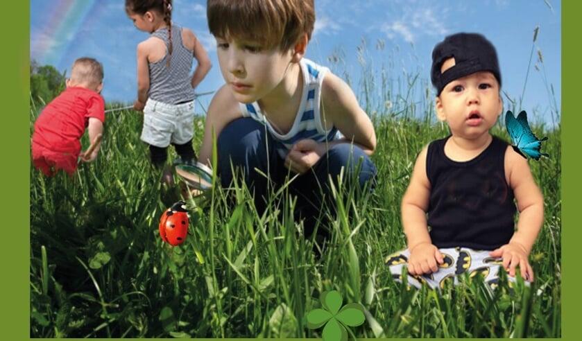 <p>Kleinkinderen: Dex, D&eacute;lycia, Denley en Destin. (foto: Christa van Kleef)</p>