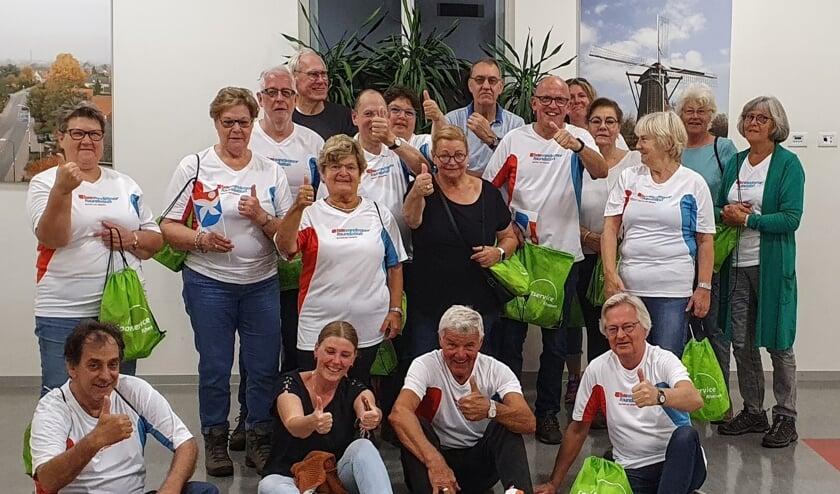 <p>Wandelgroep Elst. (foto: Wim Groninger)</p>