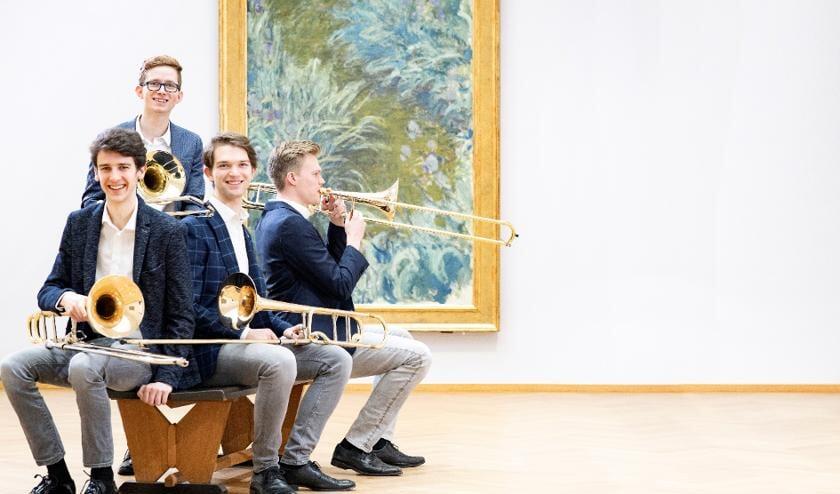 <p>Nymph&eacute;as Trombone Quartet. (foto: Foppe Schut)</p>