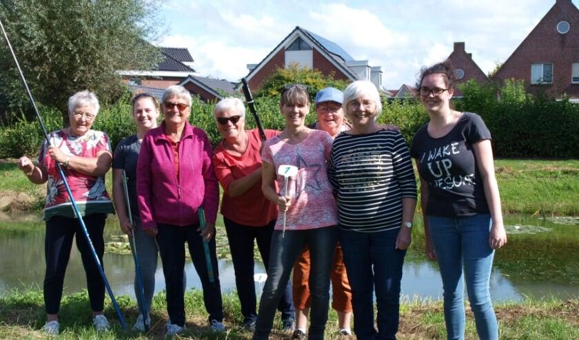 <p>Complete team damesgroep vissen. (foto: Frans Willemsen)</p>